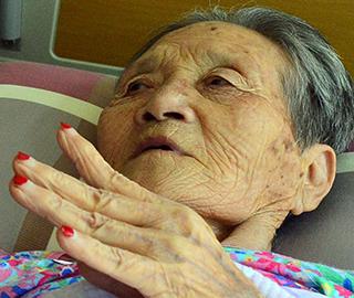 김정분(84) 할머니