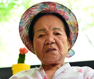 이옥선 (84) 할머니