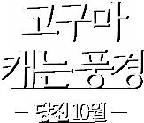 고구마 캐는 풍경-당진10월
