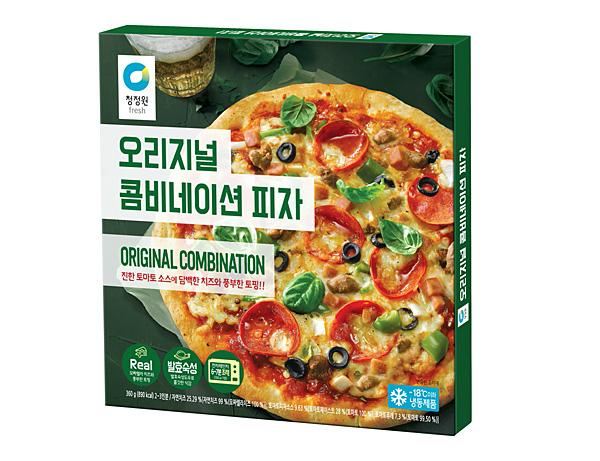 청정원 오리지널 콤비네이션 피자
